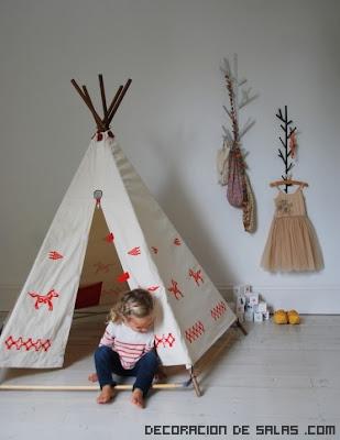 decoraciones modernas en habitaciones infantiles