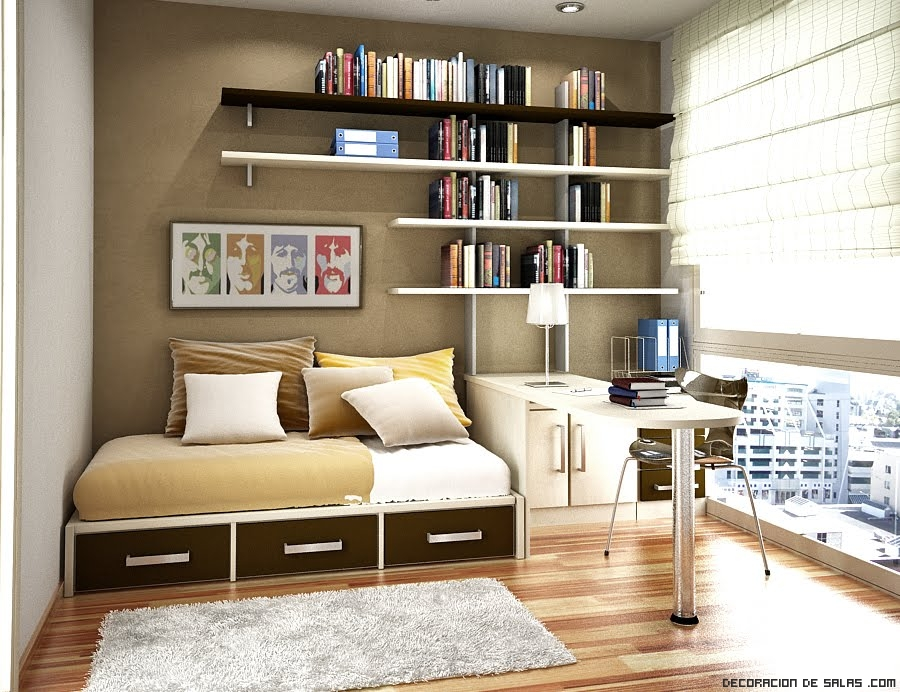 decoracin moderna with ideas para decorar habitacion