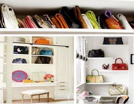 Ideas para guardar los bolsos - Guardar bolsos en armario ...