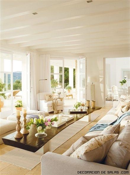casas con decoración clara