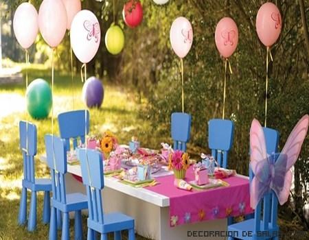 Decoraci n para una fiesta de cumplea os for Decoracion de jardines para fiestas