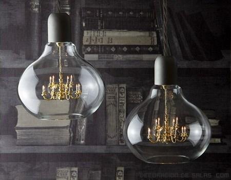 lámparas clásicas para salón