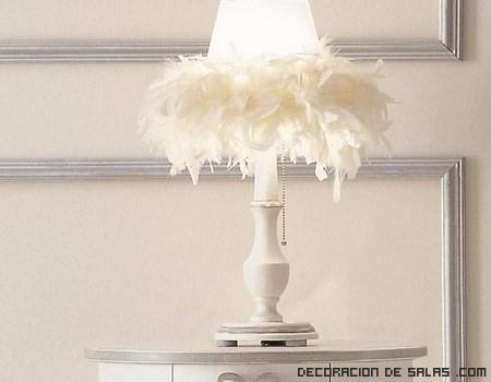 lámparas con adornos