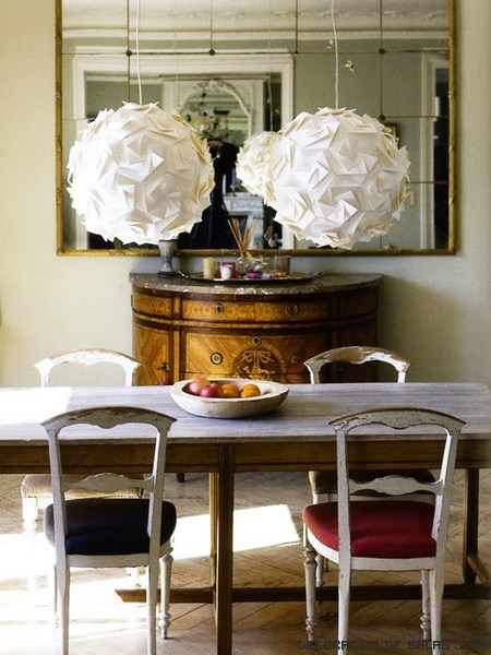 Ideas para tus l mparas de papel - Lamparas de decoracion ...