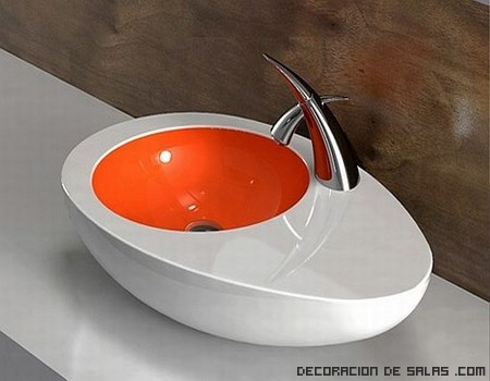 Lavabos originales - Lavabos de colores ...
