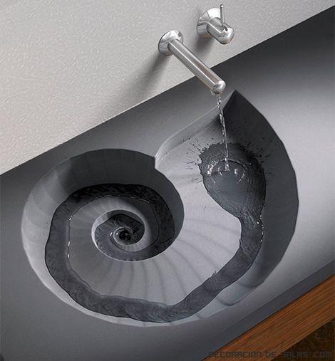 lavabos minimalistas - Lavabos Originales