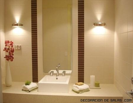 Iluminaci n para ba os - Lamparas para espejo de bano ...