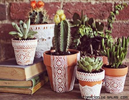 Nueva idea para decorar las macetas - Decoracion con macetas ...