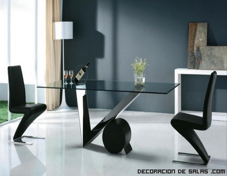 Mesas de comedor modernas for Mesas de comedor cuadradas modernas
