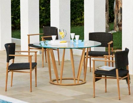 mesas redondas para el jard n