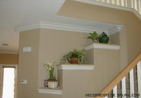 Las molduras en tu hogar for Molduras para techo