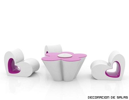 Muebles de jardín de Ágatha Ruiz de la Prada