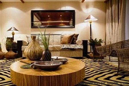 muebles en color marrón