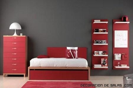 Dormitorios llenos de pasi n - Colores para paredes de dormitorios ...