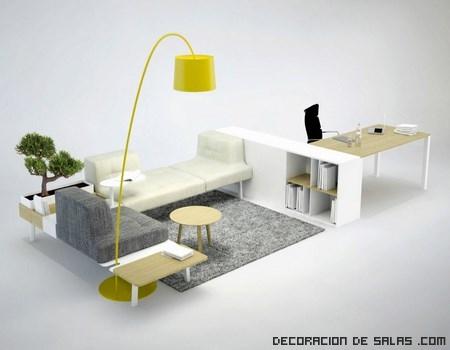 Un nuevo concepto para decorar tu oficina for Muebles para oficina modernos