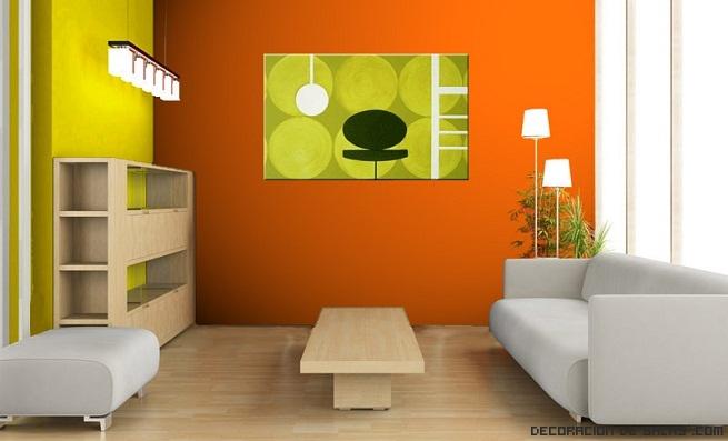 paredes bicolor para salones juveniles