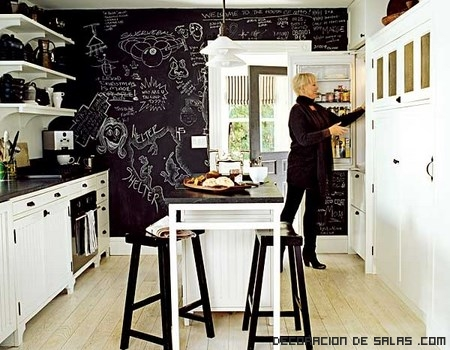 Cubre tus paredes con pizarras