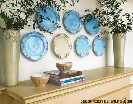 Platos decorativos para tus paredes - Platos decorativos pared ...