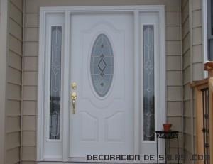 La mejor puerta para la entrada - Puertas de casa blancas ...
