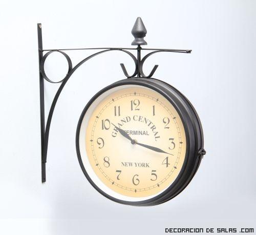 Decoraci n con relojes estaci n - Relojes de pared originales decoracion ...