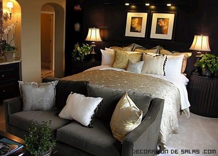 Sofás de colores para dormitorios