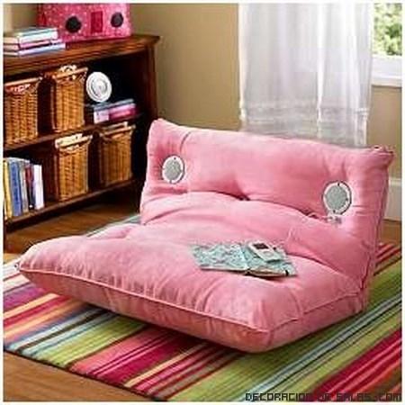 Sofa con altavoces cheap sof cama clicclac gris with sofa for Silla gaming con altavoces