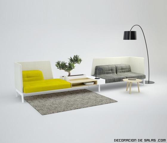 Un nuevo concepto para decorar tu oficina for Sofa oficina