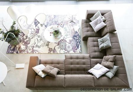 alfombras estampadas para salones