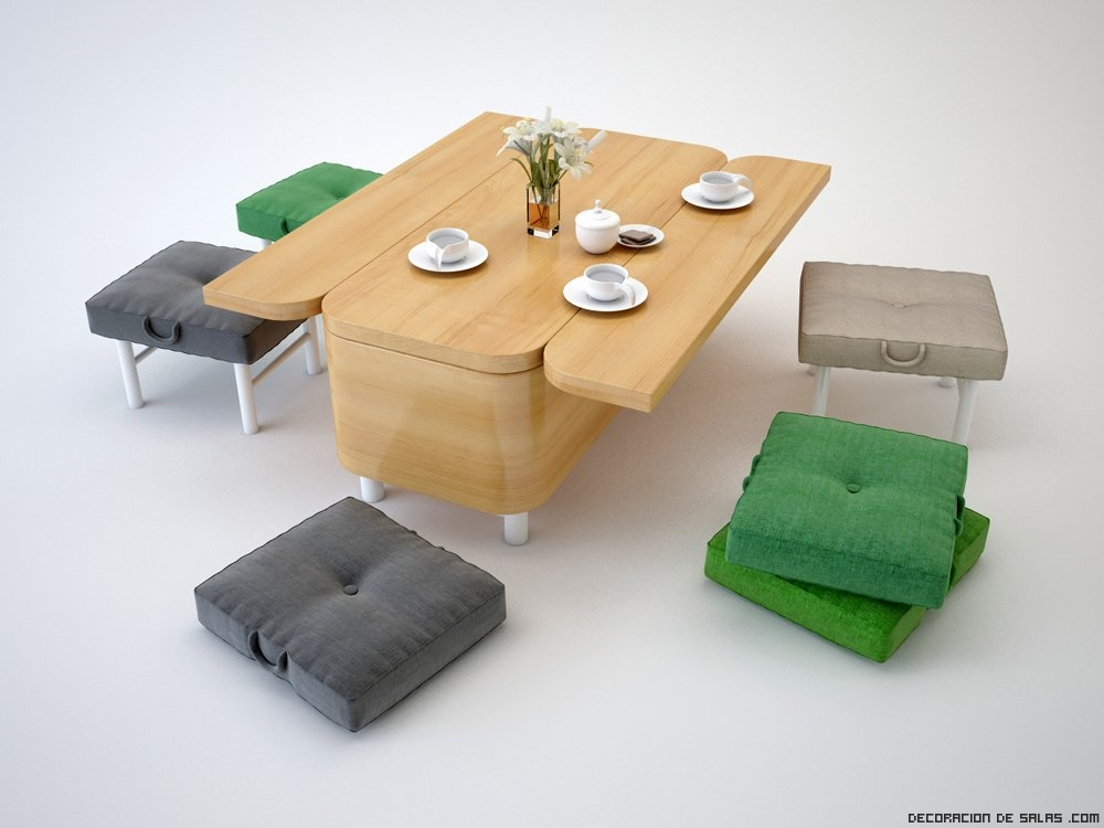 Sof que se convierte en mesa - Consolas que se convierten en mesas de comedor ...