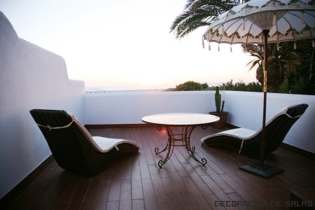 Decoraci n de la terraza for Terraza dela casa