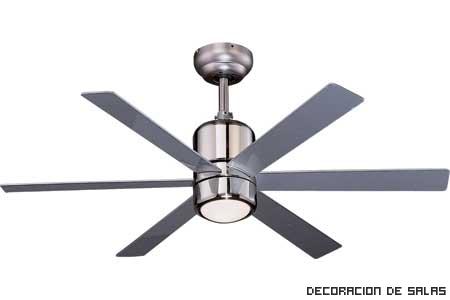 Ventiladores de techo para el calor for Ventiladores para oficina