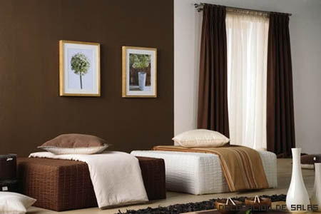 Decorar tu hogar con cortinas for Visillos para salon comedor