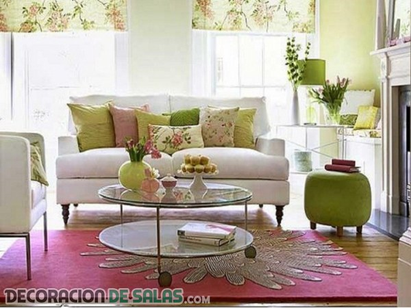 Decora tu sal n con alfombras de estilo - Salones con alfombras ...