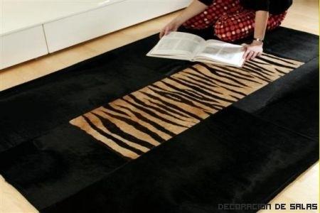 Trucos para limpiar las alfombras de piel