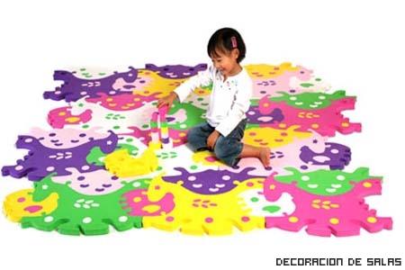 alfombra puzle