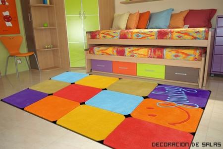 Alfombras infantiles for Alfombras de colores