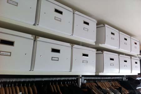 Trucos para ordenar un armario ropero iii for Cajas para guardar ropa armario