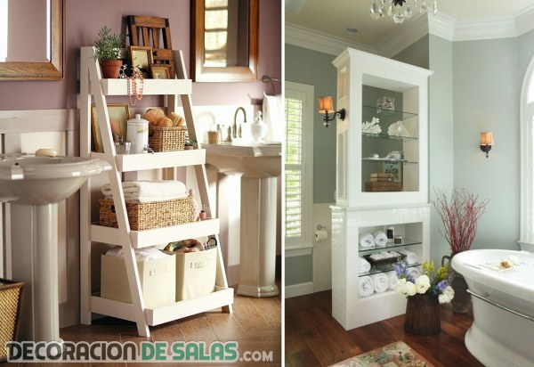 Ba os peque os y recogidos gracias a estas ideas de for Ideas decorativas para banos pequenos