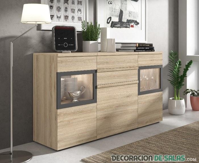 Los mejores muebles para poder tener el sal n y el comedor ordenados - Aparadores modernos para comedor ...