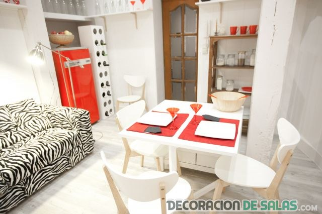 Decora un apartamento peque o con poco dinero for Ideas para decorar un departamento chico
