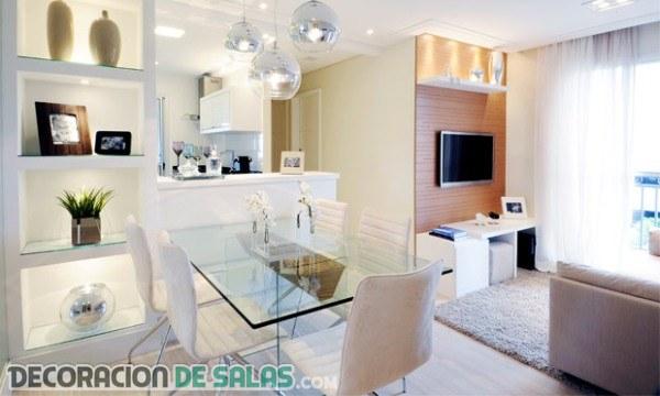 3 ideas de apartamentos pequeños