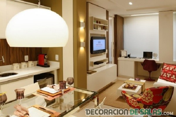 3 ideas de apartamentos peque os for Apartamentos pequenos bien decorados