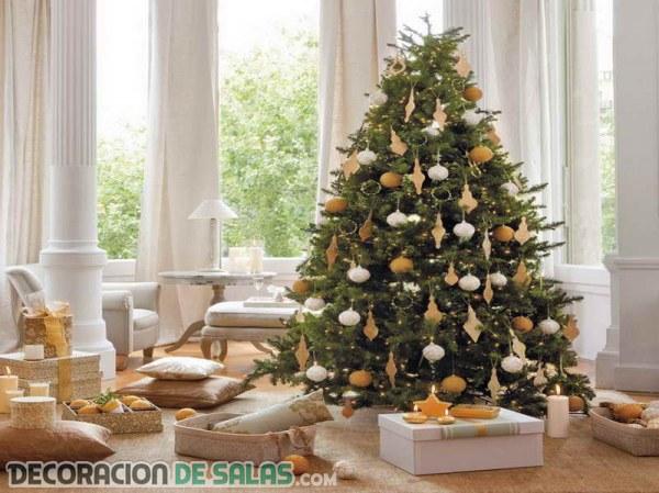 rboles de navidad blanco