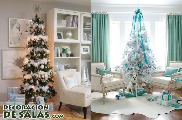 Salones decorados para navidad - Salones pequenos decorados ...
