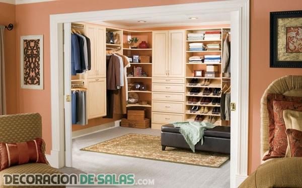 Los armarios sin puerta, una idea muy especial
