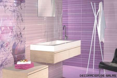 Tipos de baldosas y azulejos for Jabonera de pared bano