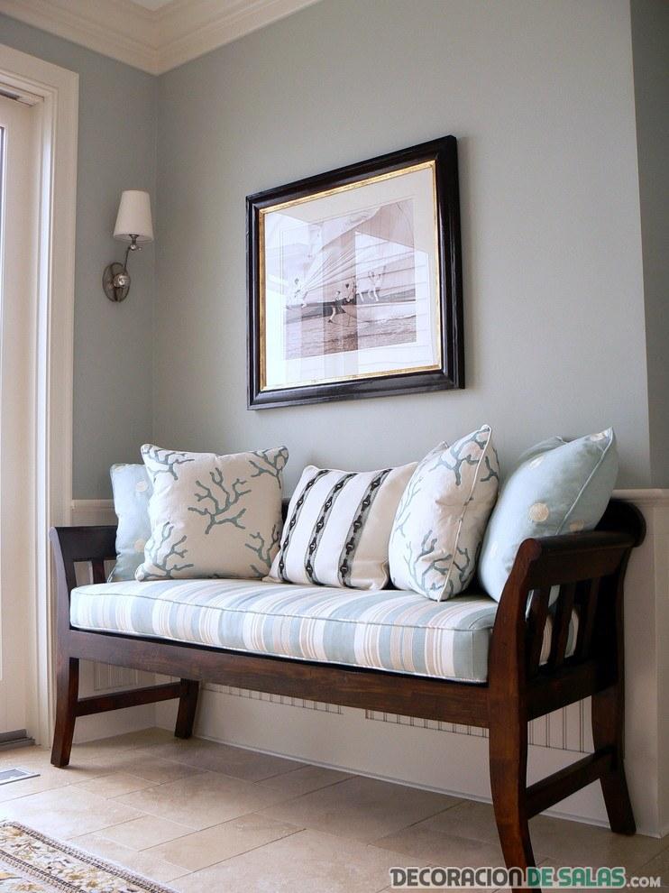 banco sofá para el pasillo