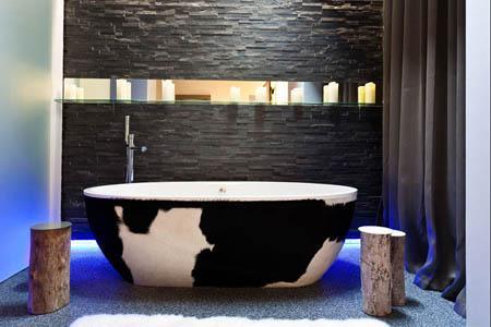 Bañera exenta para baños amplios