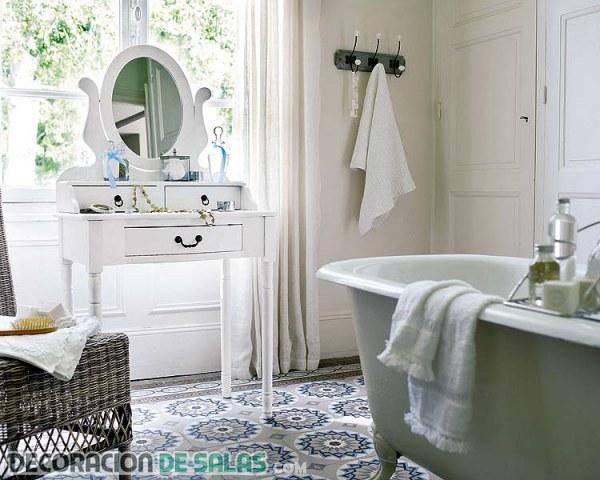 Baños con estilo vintage, una mirada al pasado