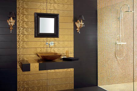 baño dorado